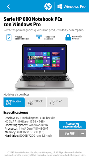 HP Comercial 1.7.2 screenshots 3