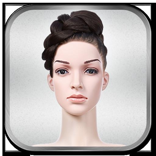 ヘアスタイルチェンジャーフォトモンタージュ 攝影 App LOGO-APP試玩