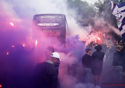 Anderlecht demande à ses supporters de ne plus utiliser de feux de Bengale