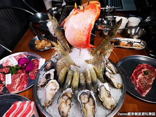 胖肉爺台式燒肉攤/超浮誇海鮮肉山貨櫃風台式燒肉攤
