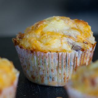 Bacon & Veggie Breakfast Muffins