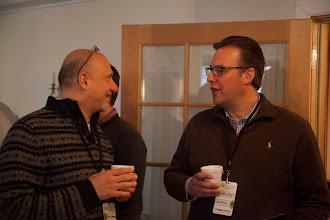 Photo: Ian and Jeff enjoying a moment