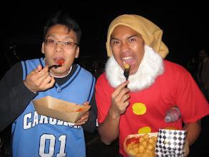 Photo: Yum yum burgers and tater tots!