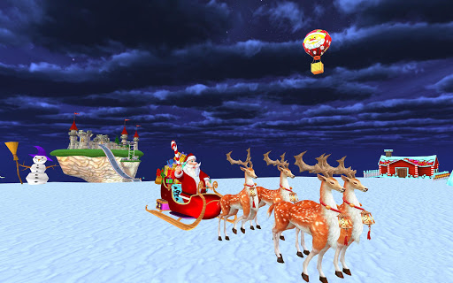 Foto do Santa Christmas Infinite Track