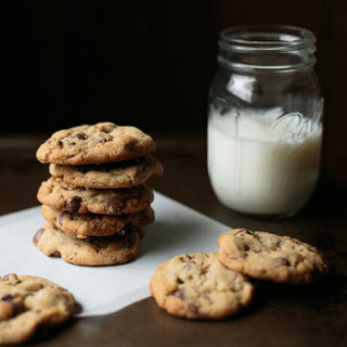Salted Brown Butter Heath Chip Cookies