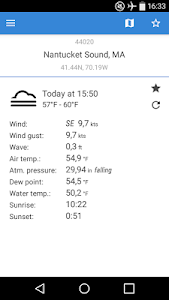 NOAA Buoys Live Marine Weather screenshot 0