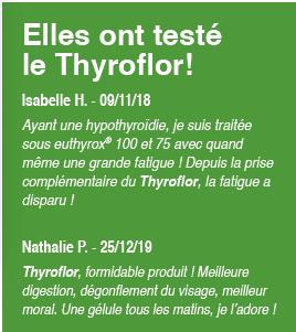 Elles ont testé le Thyroflor