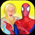Superhero & Princess Fun Video