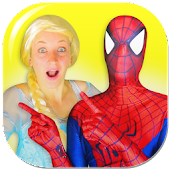 Superhero & Princess Fun Video