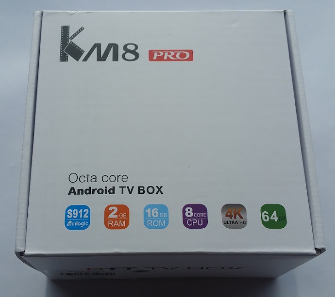 REVIEW] TV Box KM8 Pro - Amlogic S912 2/16GB Gibabit Lan- Wifi AC