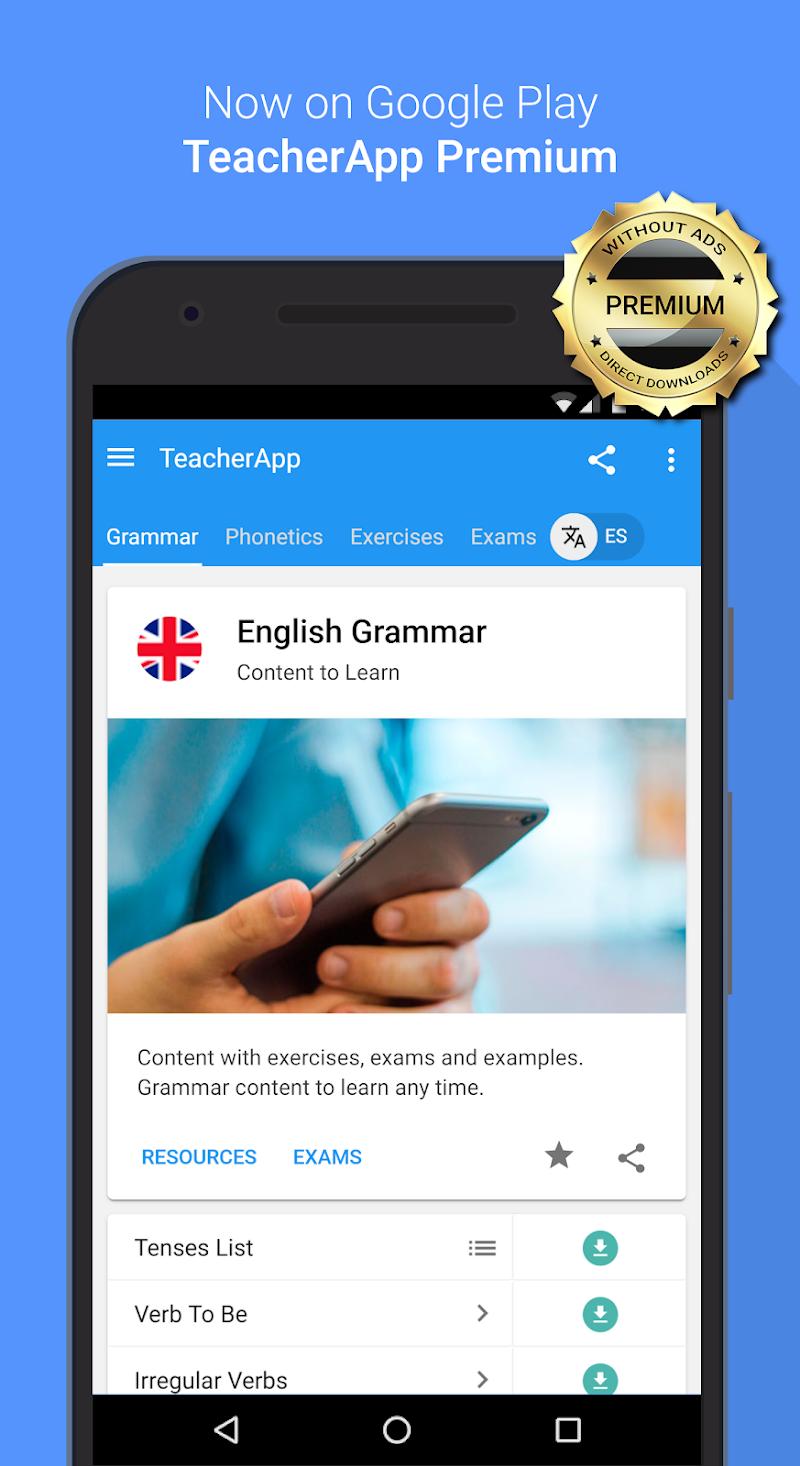 English Grammar & Phonetics Screenshot 3