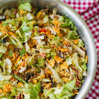 Potluck Taco Salad.