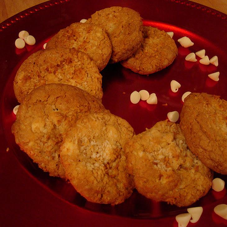 Toasted Coconut White Chocolate Macadamia Nut Cookies Recipe