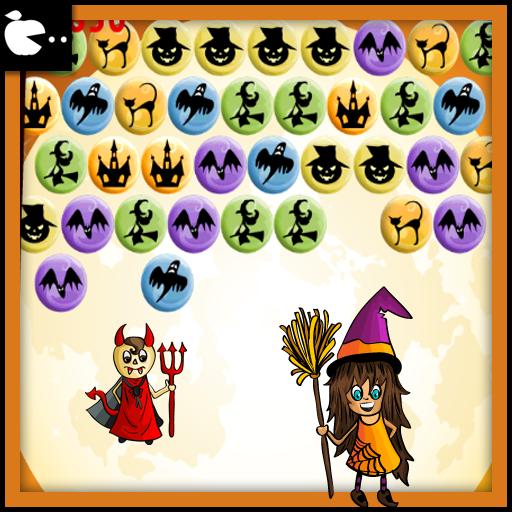 万圣节游戏:泡泡射击 Halloween game 休閒 App LOGO-硬是要APP
