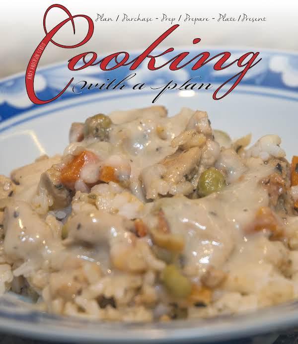 Poultry Essentials Creamy Garlic Chicken W/veggies Recipe