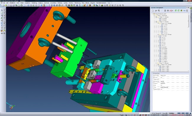VISI CAD/CAM для производства прессформ и штампов