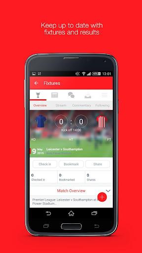 Fan App for Southampton FC