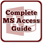 Learn MS Access Complete Guide (OFFLINE) Icon