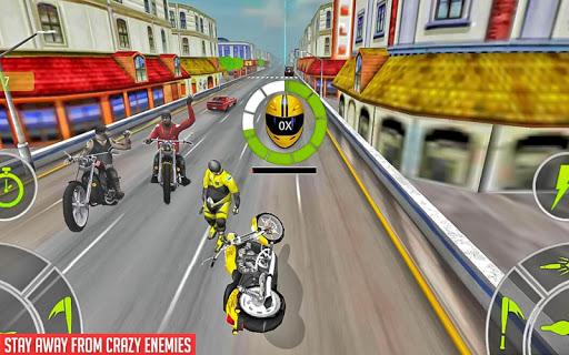 Crazy Bike attack Racing New: motorcycle racing  screenshots 18