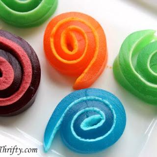 Marshmallow Jello Pinwheels Recipe