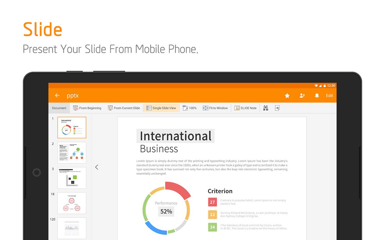 Polaris Office + PDF screenshot #12