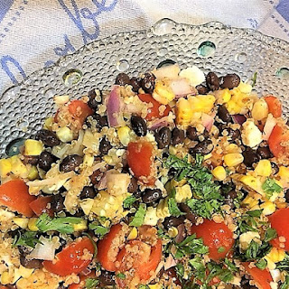 Simple Chipotle Lime Couscous Salad -- Pantry Raid.