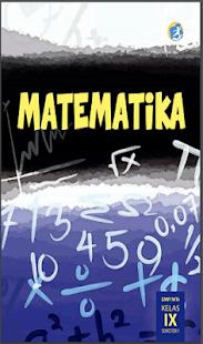 Matematika Kelas 9 SMP - náhled