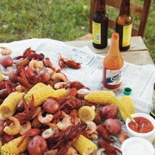 Lowcountry Boil from 'Around the Southern Table'.