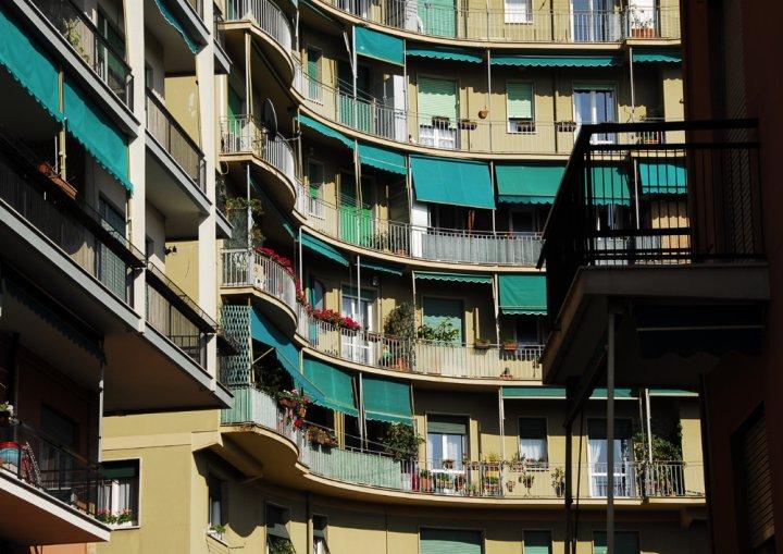Il balcone di angel