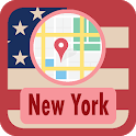 USA New York Maps icon