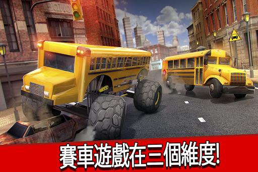 城市 公交车 模拟器 . 校车 驾驶 赛车 游戏 极端的