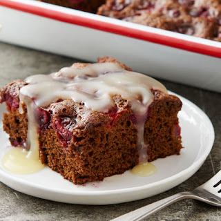 Cranberry Molasses Cake with Sweet Butter Sauce Recipe