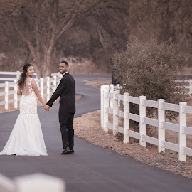 by Sarah Hart - Wedding Bride & Groom