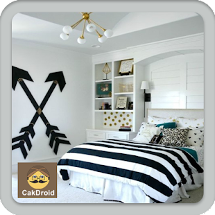 Ložnice dekorace design - náhled