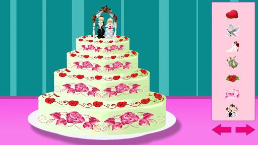 美味的公主婚礼蛋糕