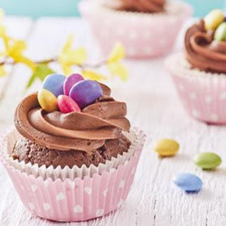 Chocolade Nestjes Cupcakes