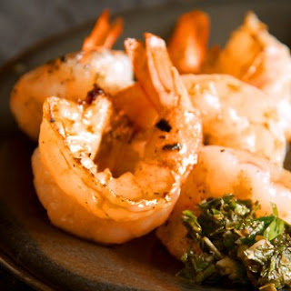 Grilled Shrimp with Salsa Verde