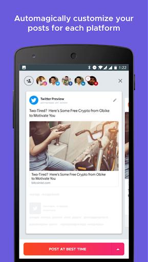 Crowdfire: Social Media Manager 4.13.1 screenshots 2