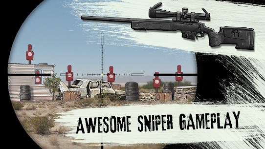 LONEWOLF (17+) – a Sniper Story Mod (Unlimited MONEY) 6