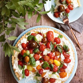 How To Make An Heirloom Tomato And Ricotta Tart