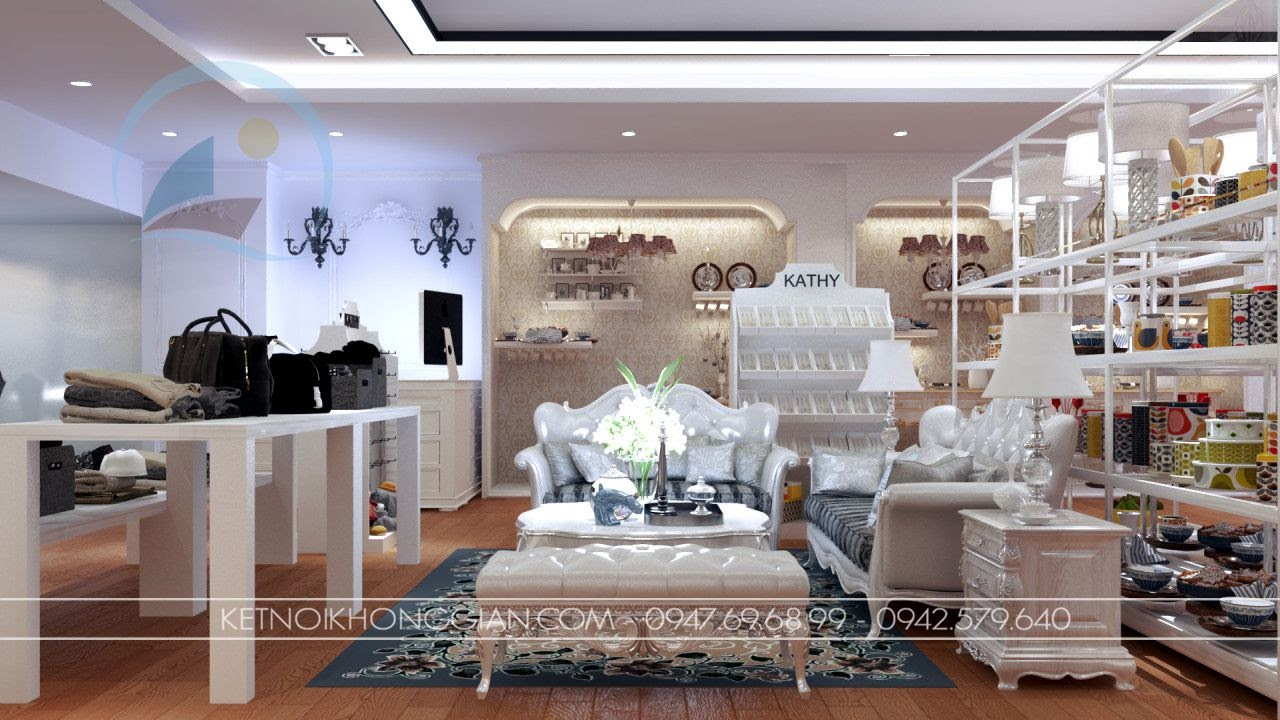 thiết kế shop đồ gia dụng