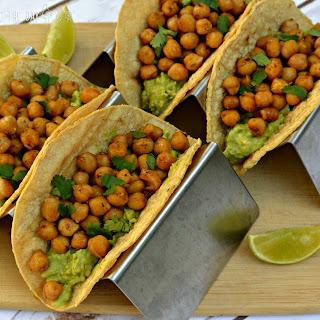 Chickpea and Guacamole Tacos Recipe