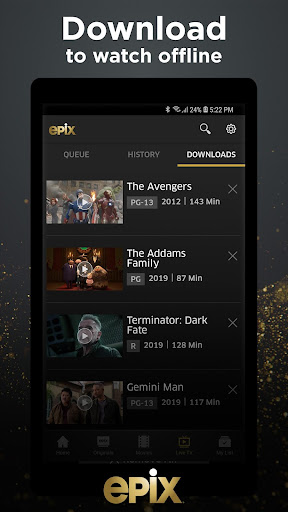 EPIX: Stream with TV Package screenshot 4