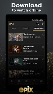 EPIX: Stream with TV Package 5