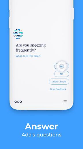 Ada – your health companion screenshot 2