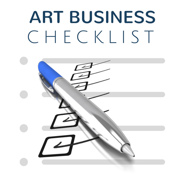 Art Business Basics Checklist