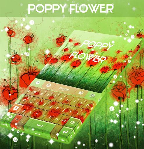 ケシの花のキーボード