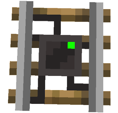 A modern texture for a detector-rail! DetectorRail [On] - by §2ValentinHeck [1.12.2]