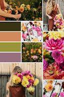 Plants & Flowers Collage - Color Palette item