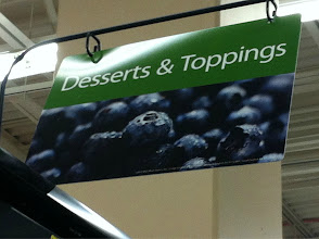 Photo: Finally I headed back to the freezer section to pick up the Cool Whip Frosting.